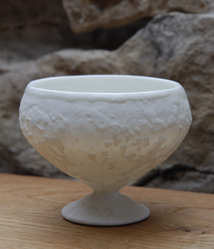 stem cup - porcelain